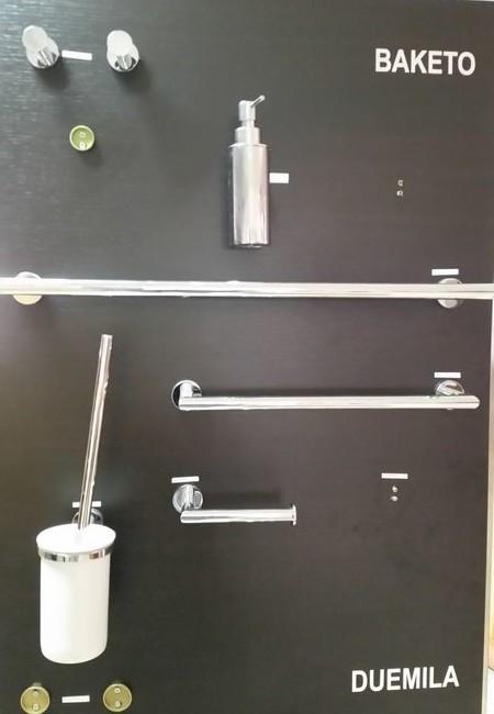 Accessori da bagno lineabeta serie baketo in ottone - Lineabeta accessori bagno ...